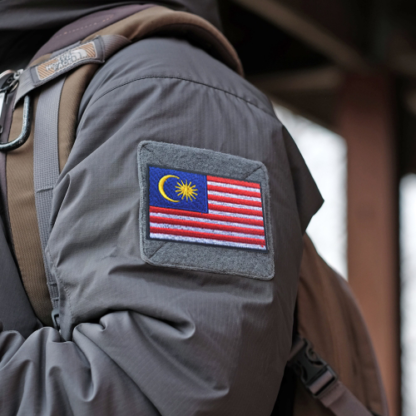 Malaysia Flag Patch