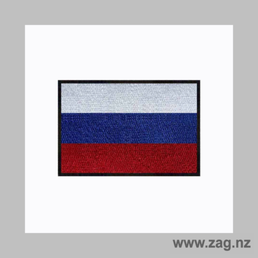 Russian Flag Patch