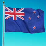 New Zealand National Flag 90 x 150 3ft x 5ft